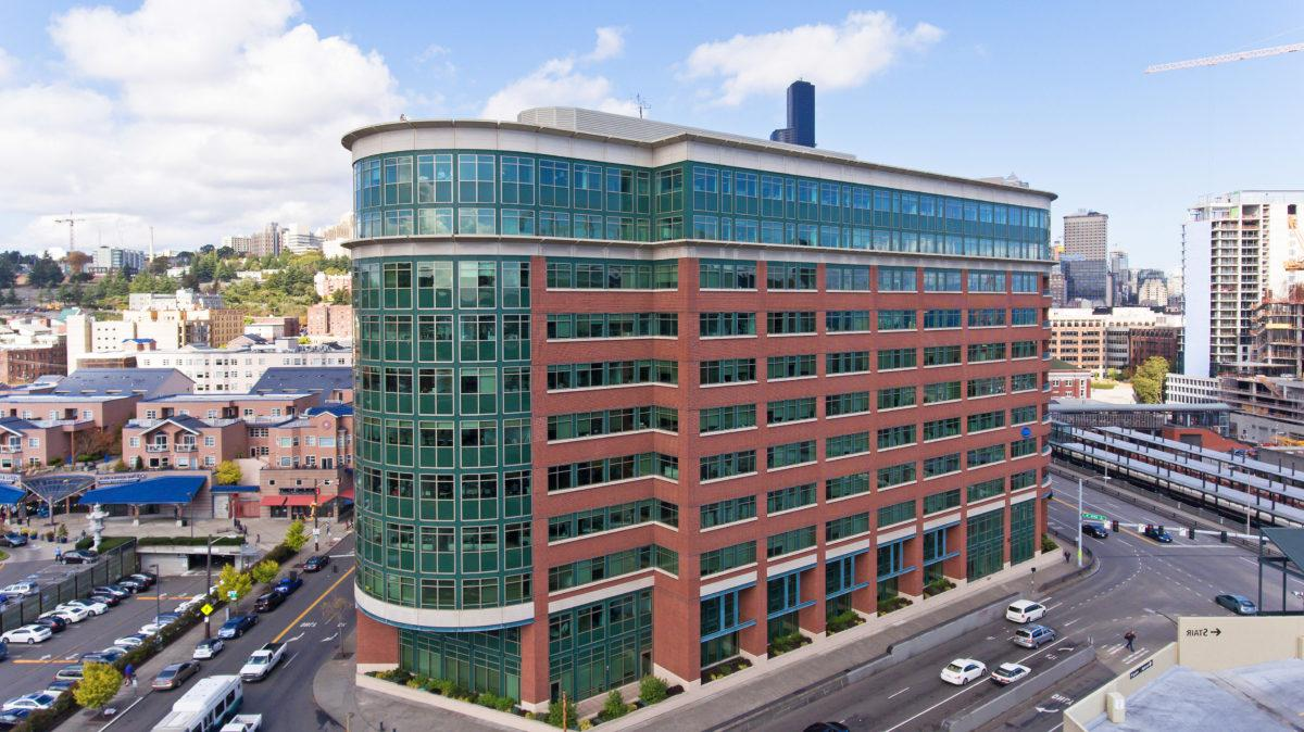 705 Union Station, a modern Class A office building in Seattle's International District