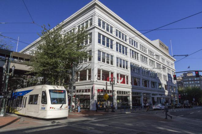 Unico properties, located in the heart of downtown Portland's central business district.